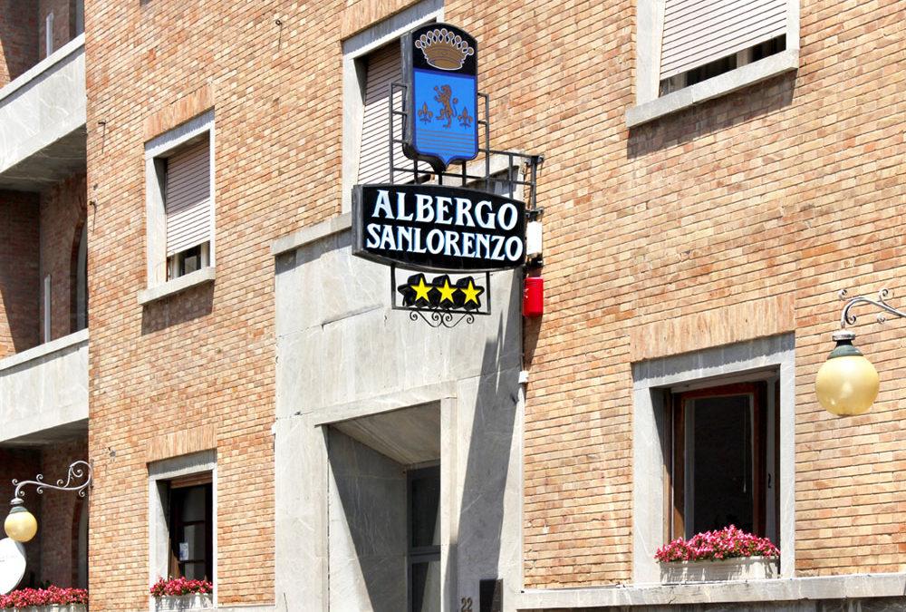 Le tre stelle dell'Albergo Sanlorenzo: ospitalità, comfort e relax.